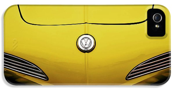 Badge iPhone 5 Cases - Electric Karmann iPhone 5 Case by Douglas Pittman