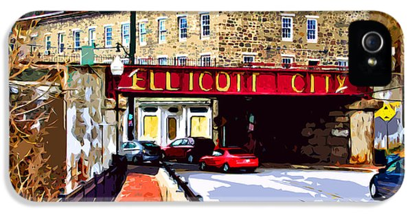 Bubbles iPhone 5 Cases - Ellicott City iPhone 5 Case by Stephen Younts