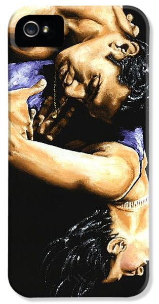 Attractive iPhone 5 Cases - Emotional Tango iPhone 5 Case by Richard Young