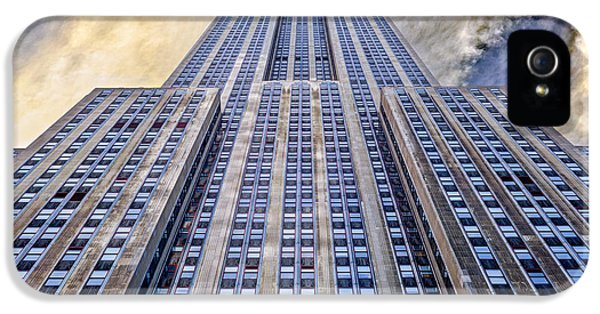 Buildings iPhone 5 Cases - Empire State Building  iPhone 5 Case by John Farnan