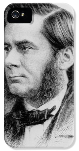 Huxley iPhone 5 Cases - Engraving Of Biologist Thomas Huxley, In 1874 iPhone 5 Case by