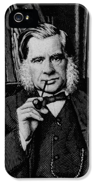 Huxley iPhone 5 Cases - Engraving Of Biologist Thomas Huxley, In 1881 iPhone 5 Case by