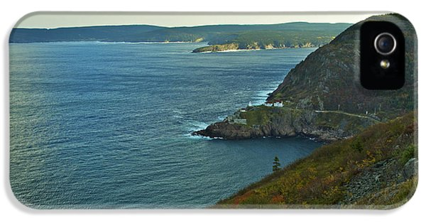 Nl iPhone 5 Cases - Entrance to St. Johns Harbour iPhone 5 Case by Phill  Doherty