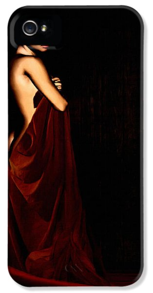 Artistic Nude iPhone 5 Cases - Eternal Optimism iPhone 5 Case by Lourry Legarde