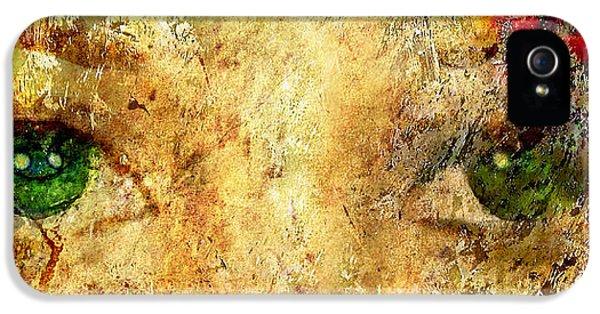 Epic Amazing Colors Landscape Digital Modern Still Life Trees Warm Natural Earth Organic Paint Photo Chic Decor Interior Design Brett Pfister Art Digital Art Digital Art Digital Art iPhone 5 Cases - Eyes of the Beheld iPhone 5 Case by Brett Pfister