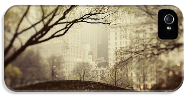 Nyc iPhone 5 Cases - Fairy of New York iPhone 5 Case by Irene Suchocki
