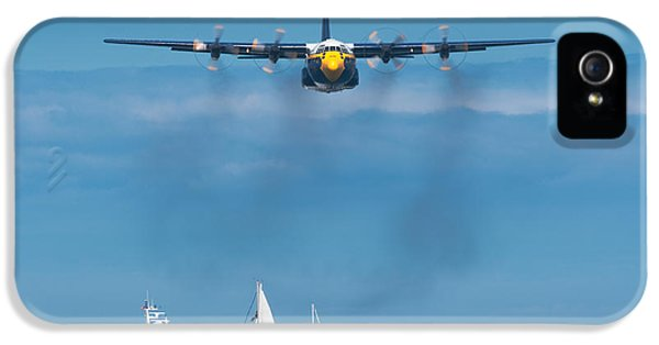 Navy iPhone 5 Cases - Fat Albert iPhone 5 Case by Sebastian Musial