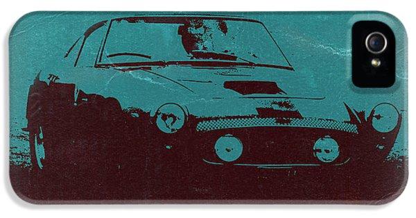 Italian Classic Car iPhone 5 Cases - Ferrari 250 GTB iPhone 5 Case by Naxart Studio