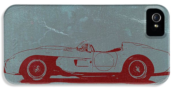 Italian Classic Car iPhone 5 Cases - Ferrari Testa Rosa iPhone 5 Case by Naxart Studio