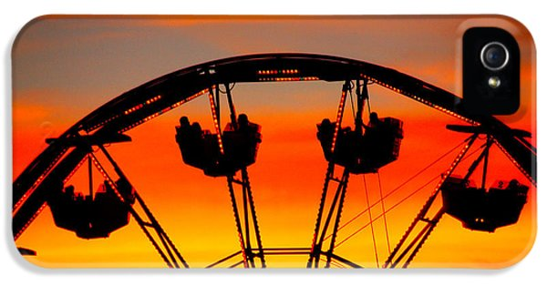 Ferris Wheel Sunset IPhone 5 / 5s Case by Cheryl Young