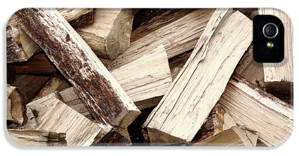 Firewood iPhone 5 Cases - Firewood iPhone 5 Case by Gaspar Avila