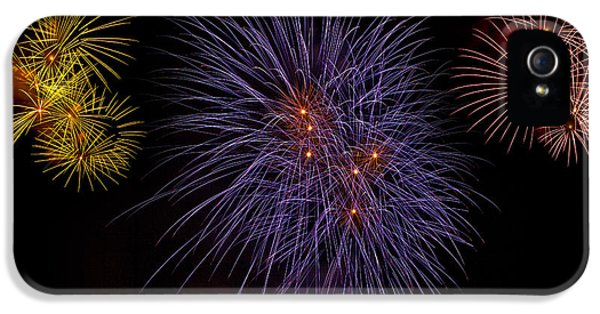 Firework iPhone 5 Cases - Fireworks iPhone 5 Case by Joana Kruse