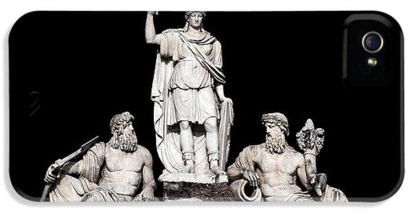 Il iPhone 5 Cases - Fontana della Dea Roma tra il Tevere e lAniene iPhone 5 Case by Fabrizio Troiani