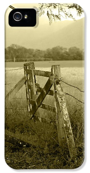 Landscapes iPhone 5 Cases - Forgotten Fields iPhone 5 Case by Holly Kempe
