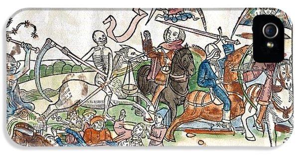 Four Horsemen Of The Apocalypse iPhone 5 Cases - Four Horsemen Of The Apocalypse, 1522 iPhone 5 Case by King