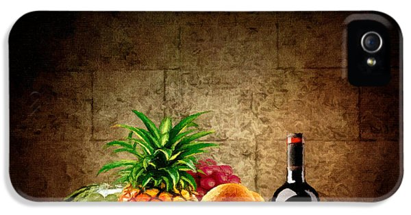 Eatery iPhone 5 Cases - Fruit and Wine iPhone 5 Case by Lourry Legarde