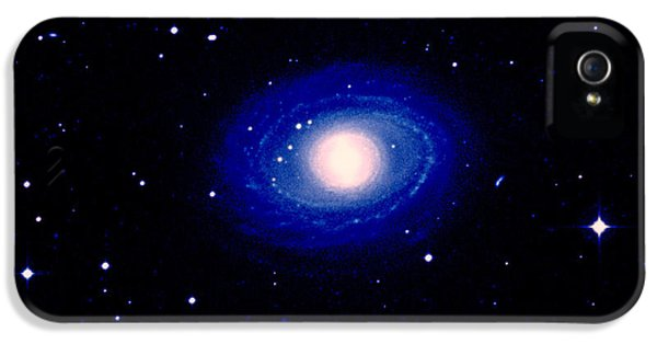 Astrophysics iPhone 5 Cases - Galaxy Ngc 1398 iPhone 5 Case by Celestial Image Co.