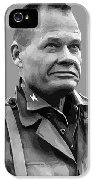 Marine Corps iPhone 5 Cases - General Lewis Chesty Puller iPhone 5 Case by War Is Hell Store
