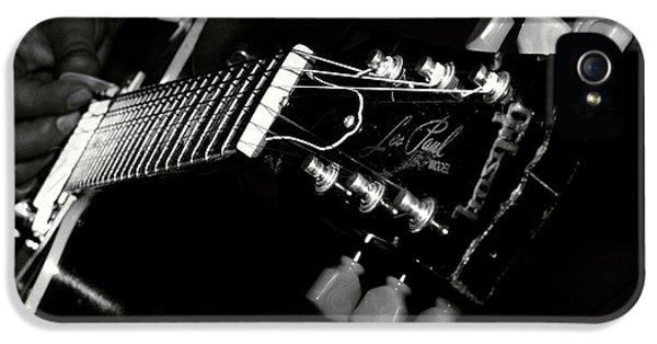 Grunge Style iPhone 5 Cases - Guitarist iPhone 5 Case by Stylianos Kleanthous