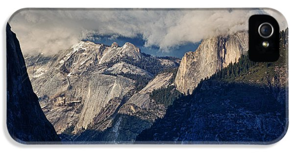 Epic iPhone 5 Cases - Half Dome In The Clouds iPhone 5 Case by Rick Berk