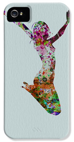 Glamour iPhone 5 Cases - Happy dance iPhone 5 Case by Naxart Studio