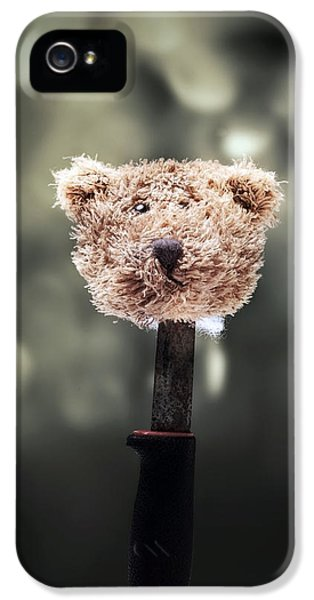 Thriller iPhone 5 Cases - Head Of A Teddy iPhone 5 Case by Joana Kruse