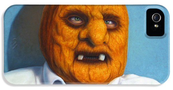 Halloween iPhone 5 Cases - Heavy Vegetable-head iPhone 5 Case by James W Johnson