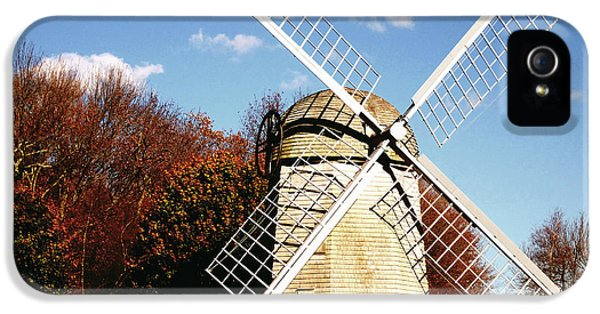 Historical iPhone 5 Cases - Historical Windmill iPhone 5 Case by Lourry Legarde