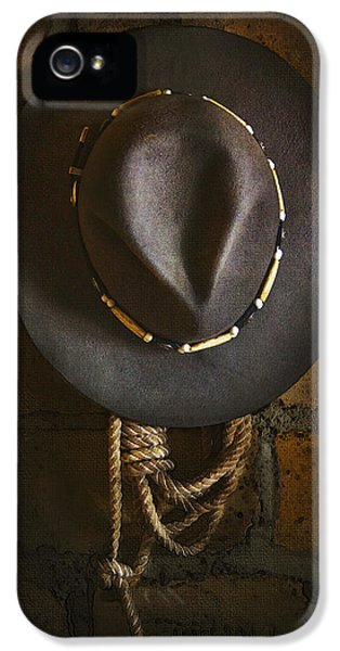 Hat iPhone 5 Cases - Home from The Range iPhone 5 Case by Ron Jones