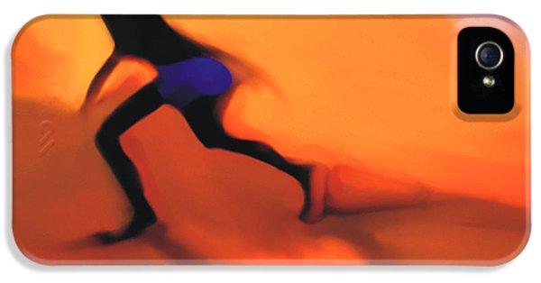 Sillouette iPhone 5 Cases - Hot Sands iPhone 5 Case by Bob Salo