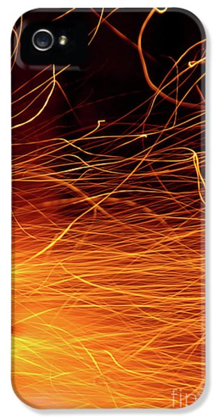 Hot Sparks IPhone 5 / 5s Case by Carlos Caetano