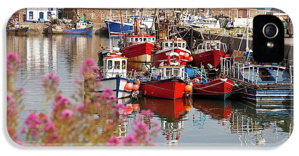 Harbor iPhone 5 Cases - Howth harbour iPhone 5 Case by Gabriela Insuratelu