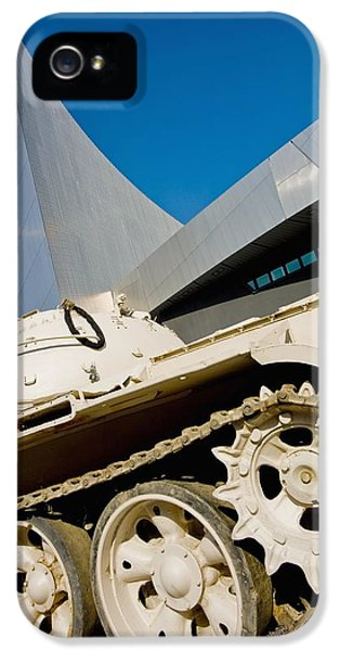 Modern Western iPhone 5 Cases - Imperial War Museum North In Salford iPhone 5 Case by Axiom Photographic
