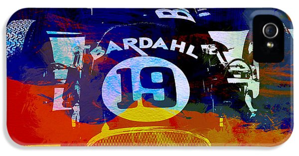 Formula One iPhone 5 Cases - In Between the races iPhone 5 Case by Naxart Studio