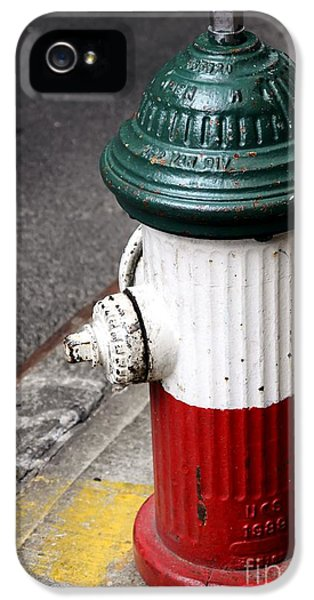 Italian Fire Hydrant IPhone 5 / 5s Case by Sophie Vigneault