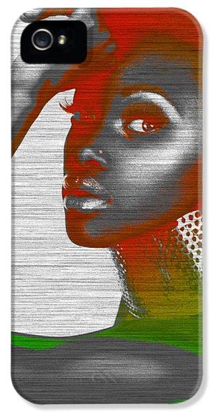 African iPhone 5 Cases - Jada iPhone 5 Case by Naxart Studio