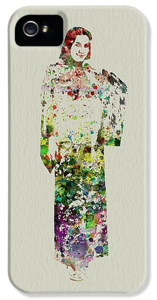 Attractive iPhone 5 Cases - Japanese Woman dancing iPhone 5 Case by Naxart Studio