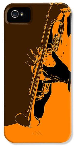 Composer iPhone 5 Cases - Jazz iPhone 5 Case by Naxart Studio