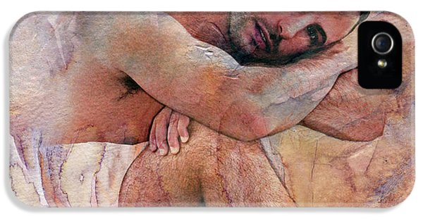 Erotic Male iPhone 5 Cases - Joseph iPhone 5 Case by Mark Ashkenazi