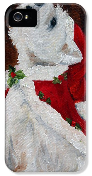 Framed iPhone 5 Cases - Joy to the World iPhone 5 Case by Mary Sparrow