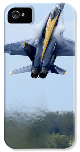 Vertical iPhone 5 Cases - Lead Solo Pilot Of The Blue Angels iPhone 5 Case by Stocktrek Images