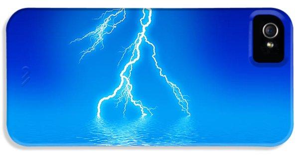 Discharging iPhone 5 Cases - Lightning iPhone 5 Case by Pasieka