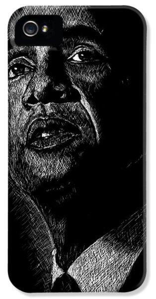 Obama iPhone 5 Cases - Living the Dream iPhone 5 Case by Maria Arango