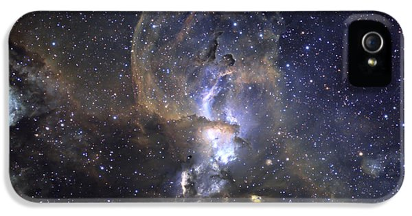 Astrophysics iPhone 5 Cases - Loops Of Ngc 3576 iPhone 5 Case by Ken Crawford