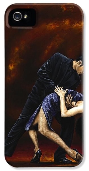 Stockings iPhone 5 Cases - Lost in Tango iPhone 5 Case by Richard Young