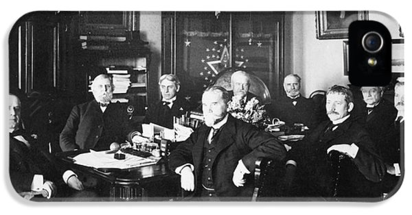The White House Photographs iPhone 5 Cases - Mckinley & Cabinet, 1900 iPhone 5 Case by Granger