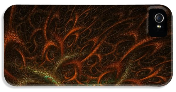 Abstract Digital Art iPhone 5 Cases - Medusa iPhone 5 Case by Lourry Legarde