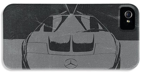 German Classic Cars iPhone 5 Cases - Mercedes Benz C Iii Concept iPhone 5 Case by Naxart Studio