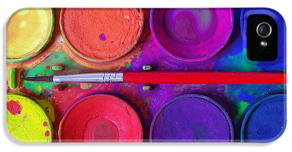 Color iPhone 5 Cases - Messy Paints iPhone 5 Case by Carlos Caetano
