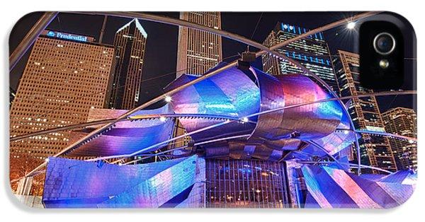 Cityscape iPhone 5 Cases - Millennium Park iPhone 5 Case by Sebastian Musial